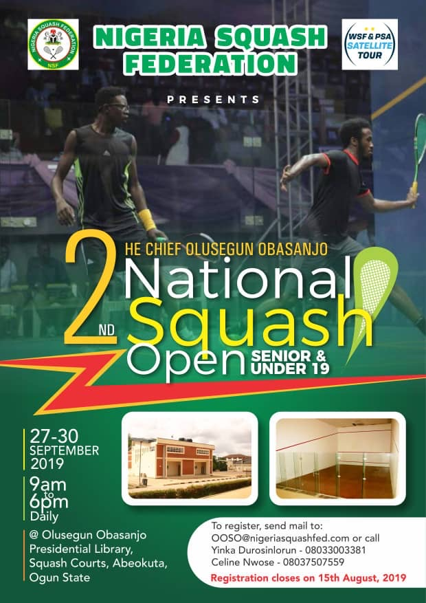 2nd Chief Olusegun Obasanjo National Squash Open